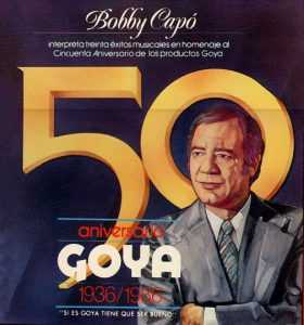 Portada disco 50 aniversario GOYA