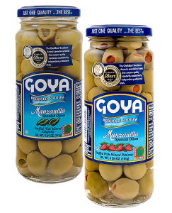 Reduced Sodium Spanish Olives Stuffed with Minced Pimientos