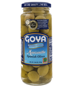 Reduced sodium Green Olives