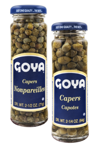 Alcaparras Goya capotes and nonpareilles