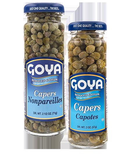 Alcaparras reducidas en sodio Goya