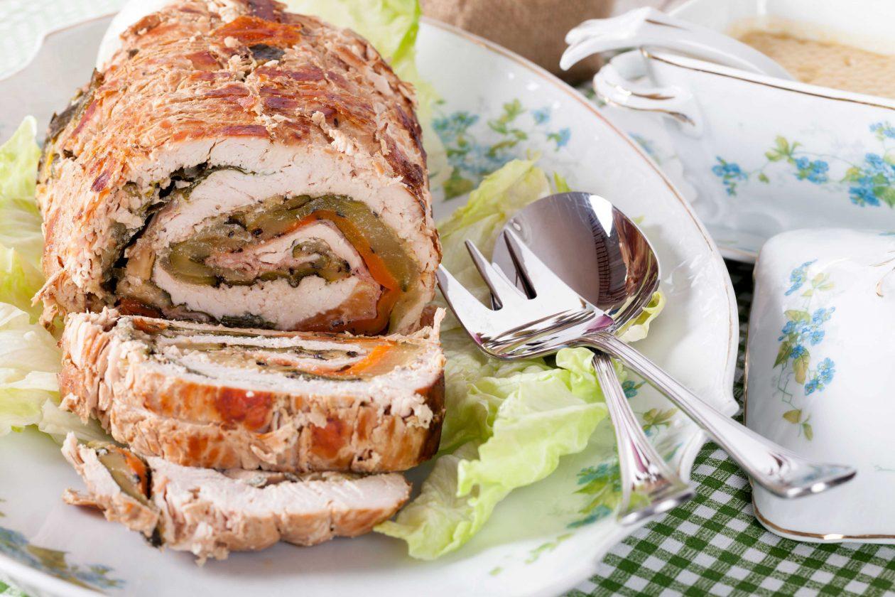 Pollo relleno con Aceitunas Rellenas de Pimientos Picados Reducidas en Sodio GOYA