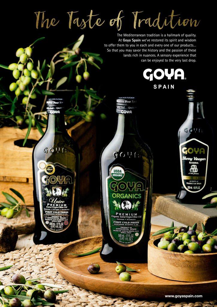 Goya en la revista Olivatessen