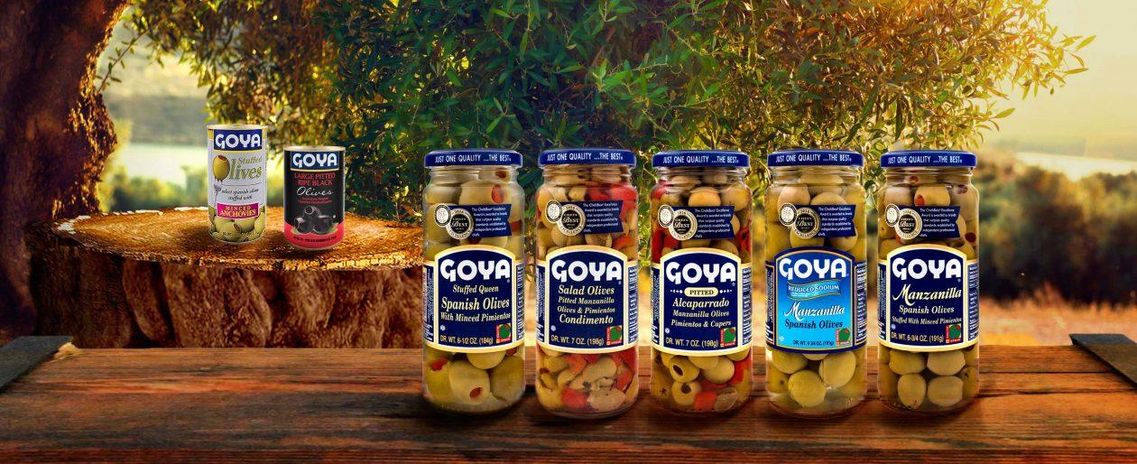 Aceitunas Goya Spain