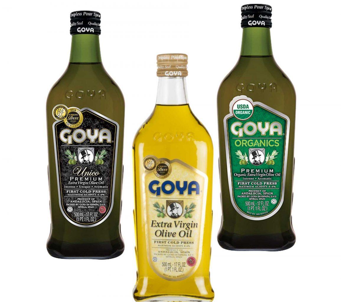 Aceites de oliva Virgen Extra Goya