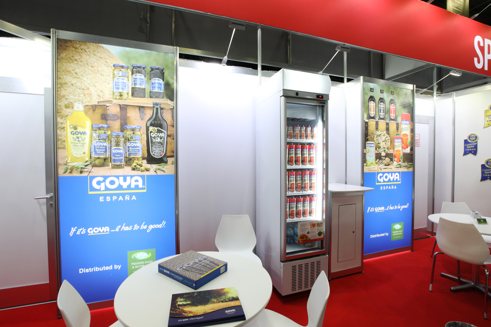 Goya Stand at Fine Food
