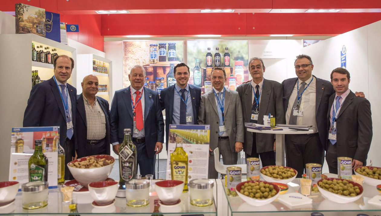The members of Goya at ANUGA
