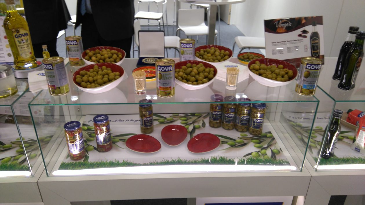 Degustation Goya olives