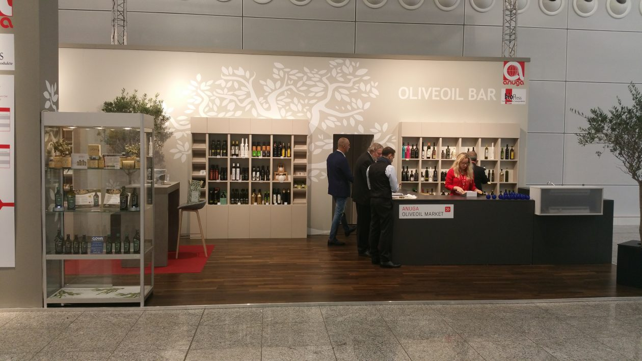 Olive Oil Bar at ANUGA