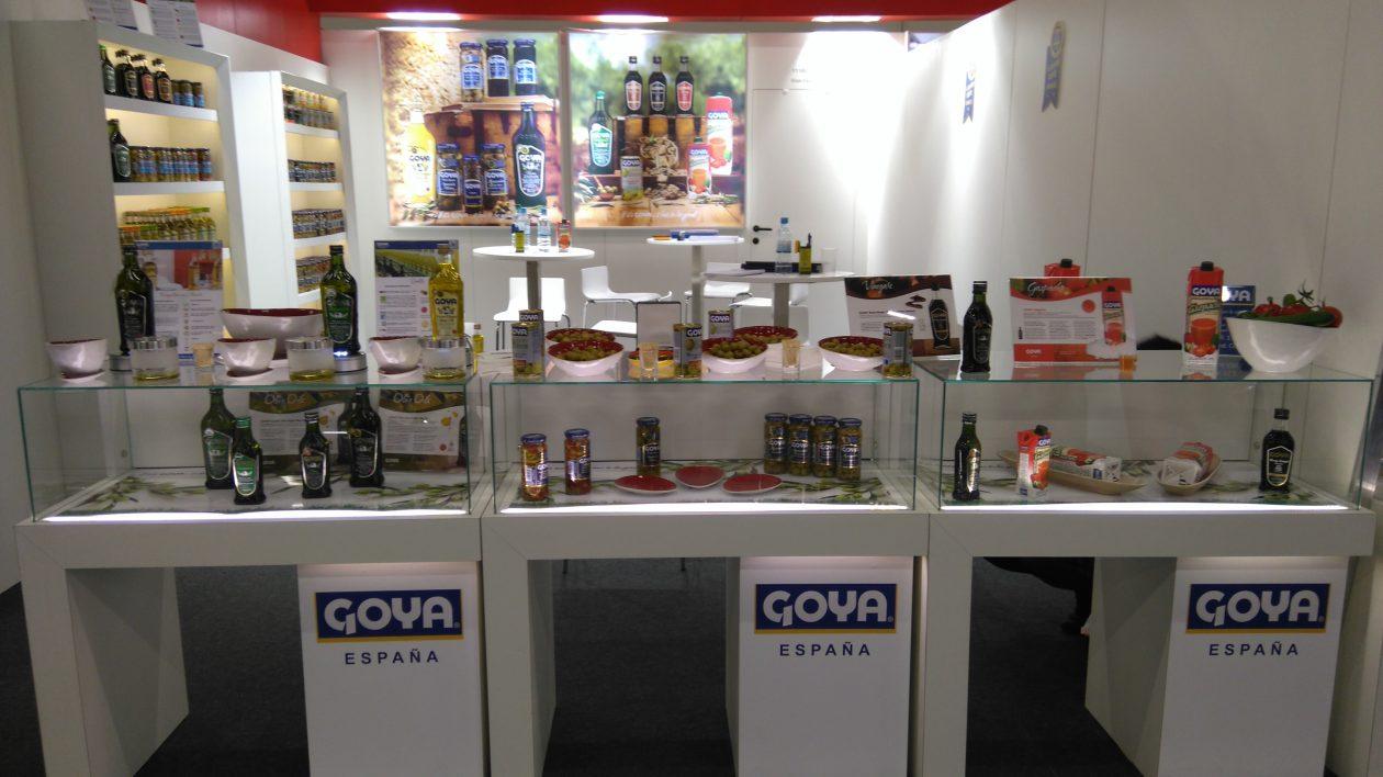 Goya España Stand at ANUGA 2017