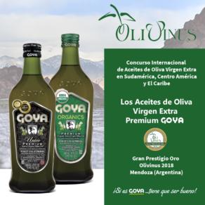 Premios Olivinus 2018