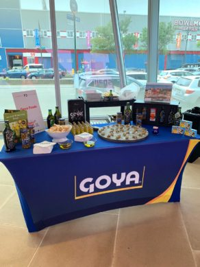 Goya products great match tasting