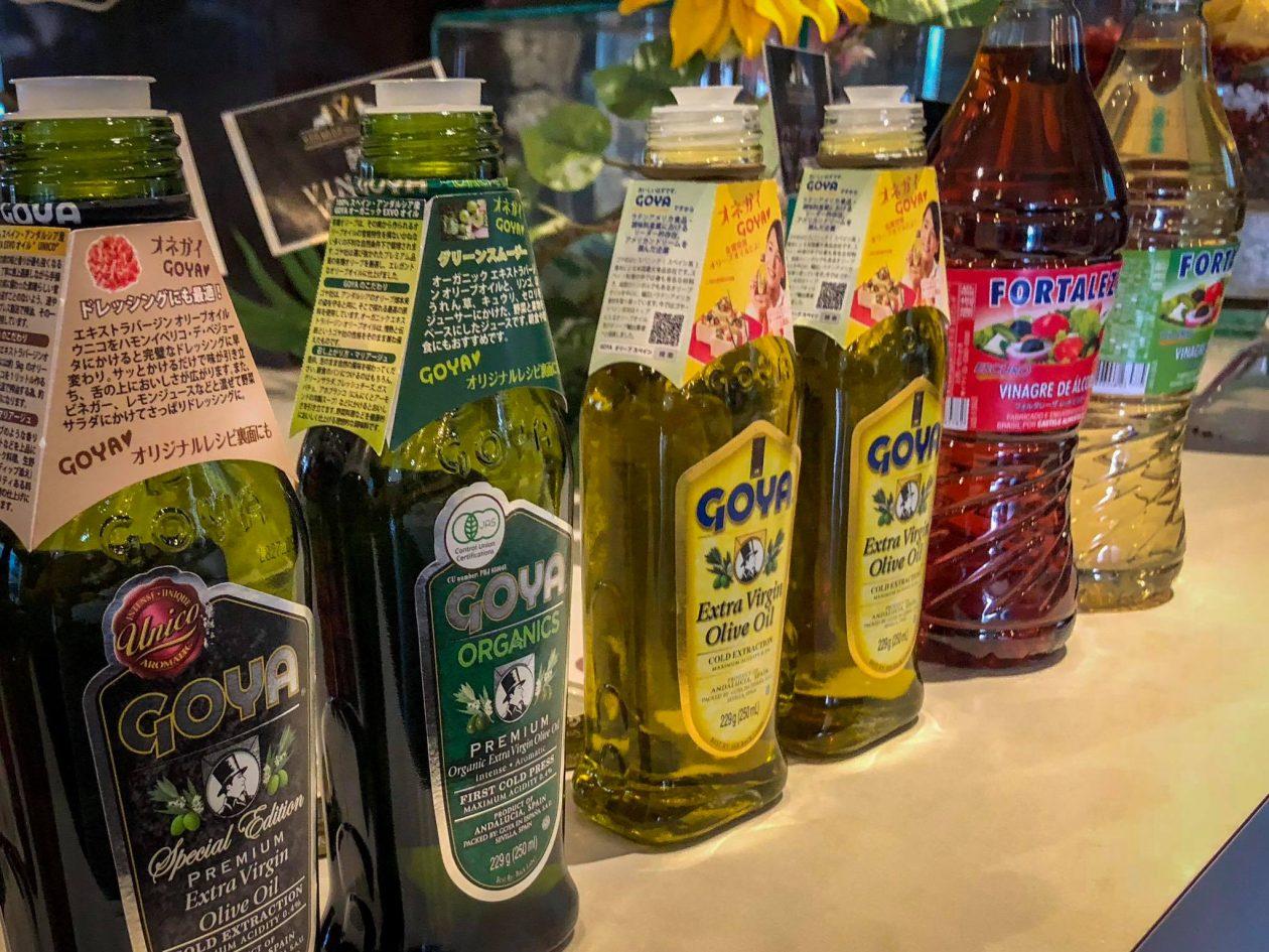 Premium Goya Extra virgin olive oils