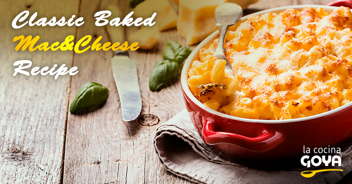 classic baked mac cheese recipe