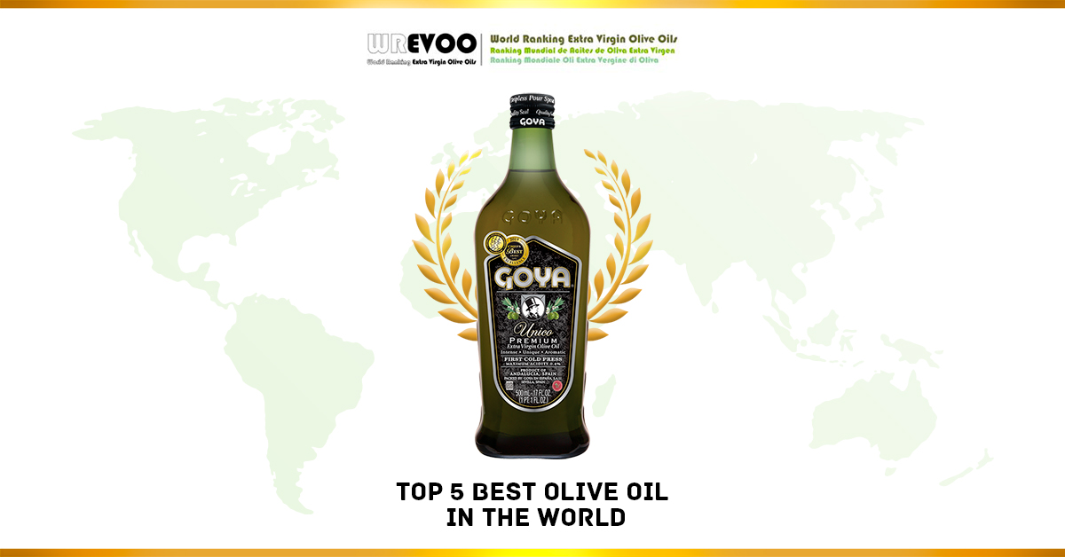 Goya Premium Olive Oils crown the World Ranking of Extra