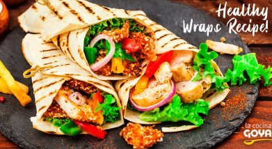 Healthy Wraps Recipe!