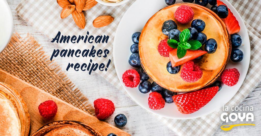 American pancakes recipe!