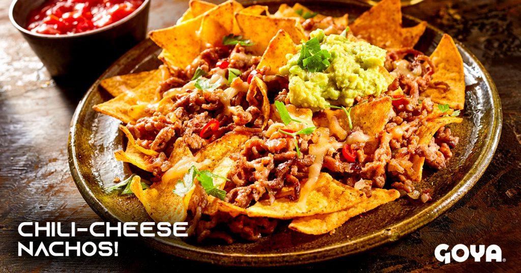 Tasty chili-cheese nachos recipe!
