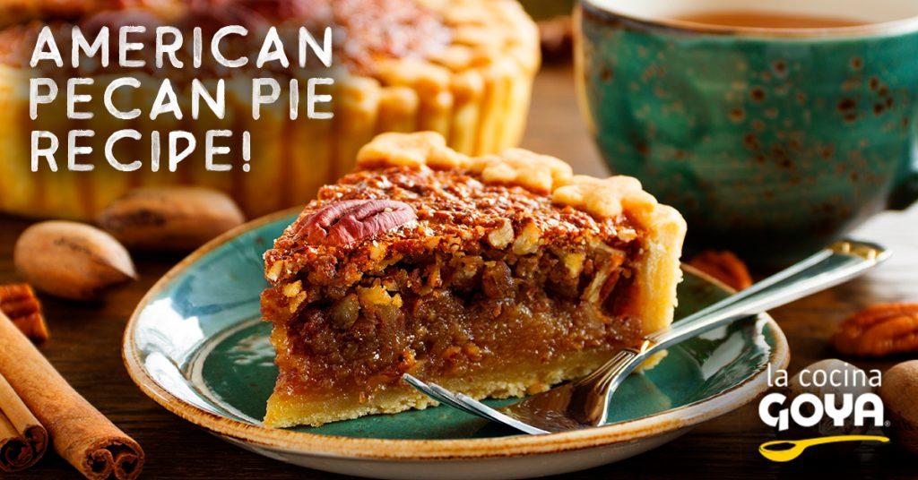 Tarta de nueces pacanas – American pecan pie