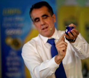 Cata de aceite del director de calidad de Goya España