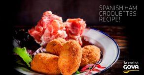 ham spanish croquettes recipe