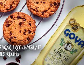 sugar free chocolate chips cookies recipe