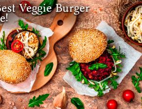 Hamburguesa vegana / veggie burger