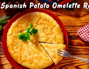 real spanish potato omelette