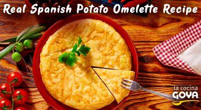 real spanish potato omelette