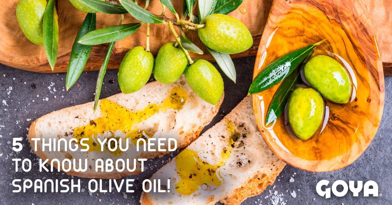 5 things you need to know about spanish olive oil