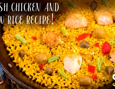 Spanish Chicken and Yellow Rice Recipe!