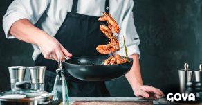 20 teecnicas de cocina con aceite en caliente