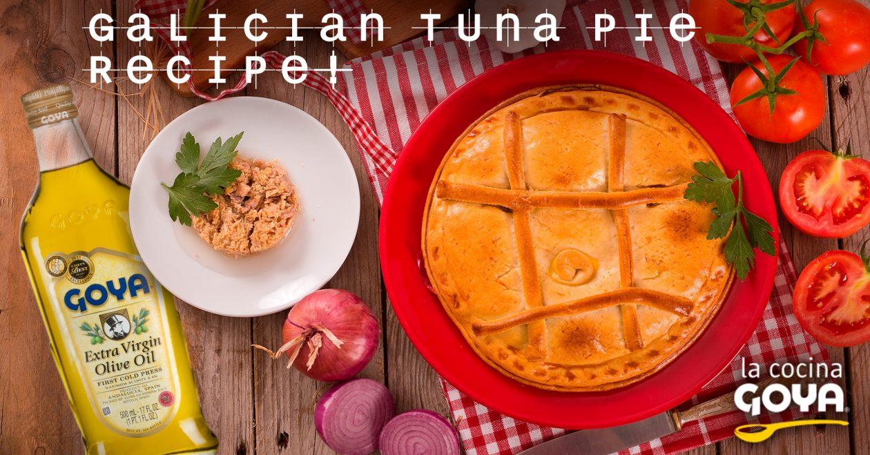 Empanada gallega de atun/galician tuna pie