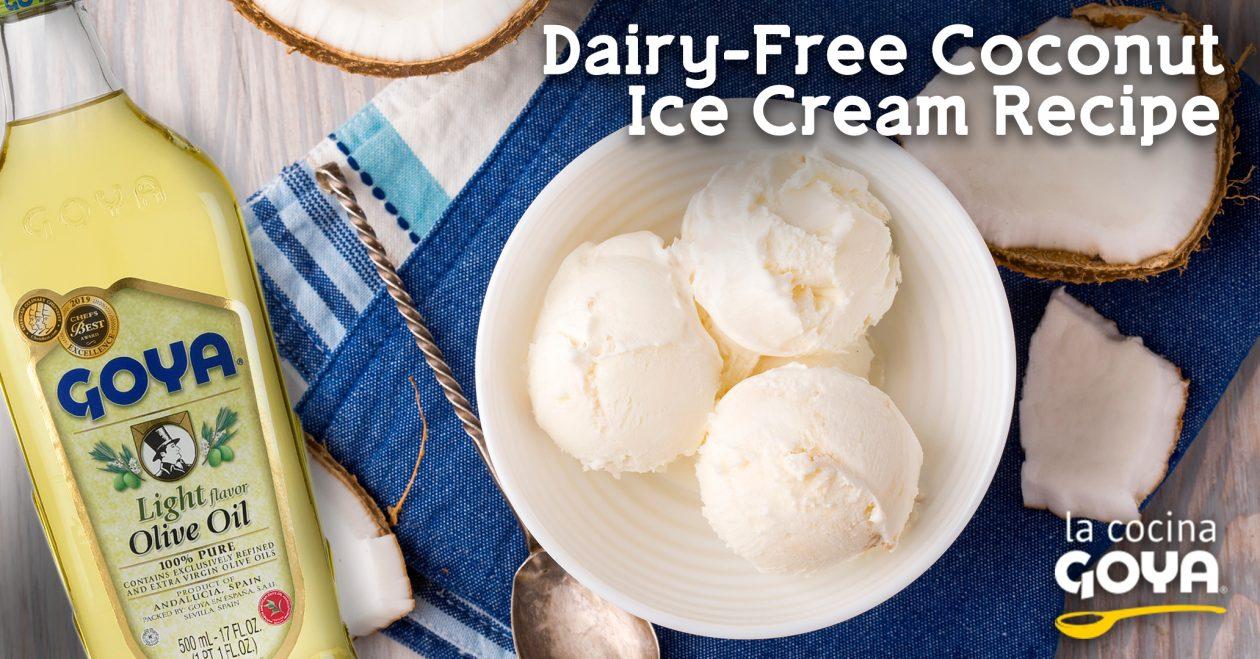 Coconout ice cream | helado de coco