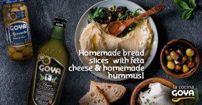 Homemade hummus | hummus casero