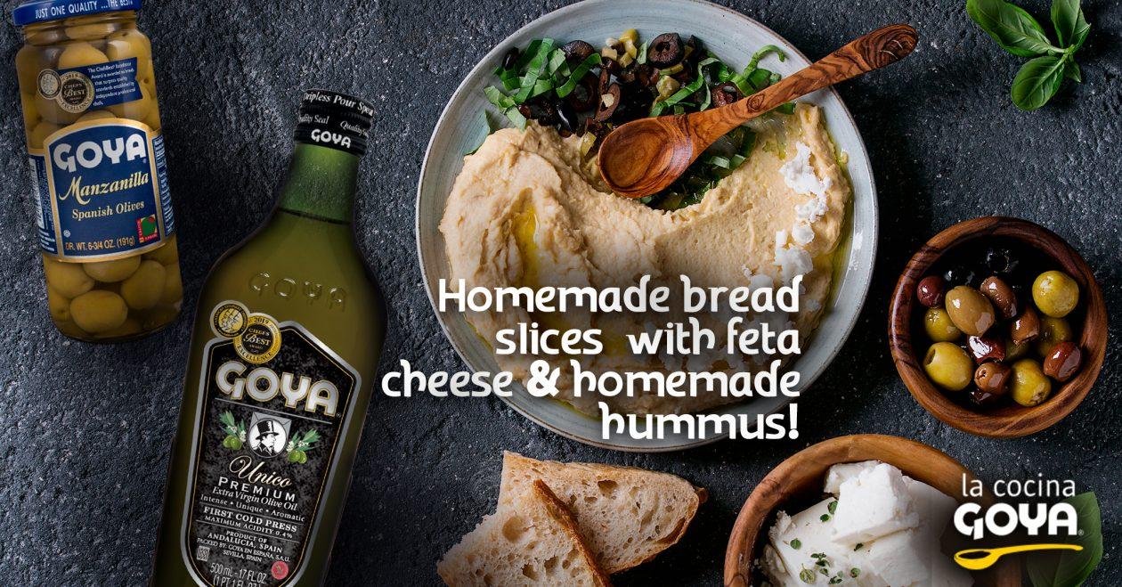 Homemade hummus   hummus casero