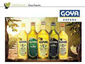 Goya en la revista mercacei | Goya in mercacei magazine