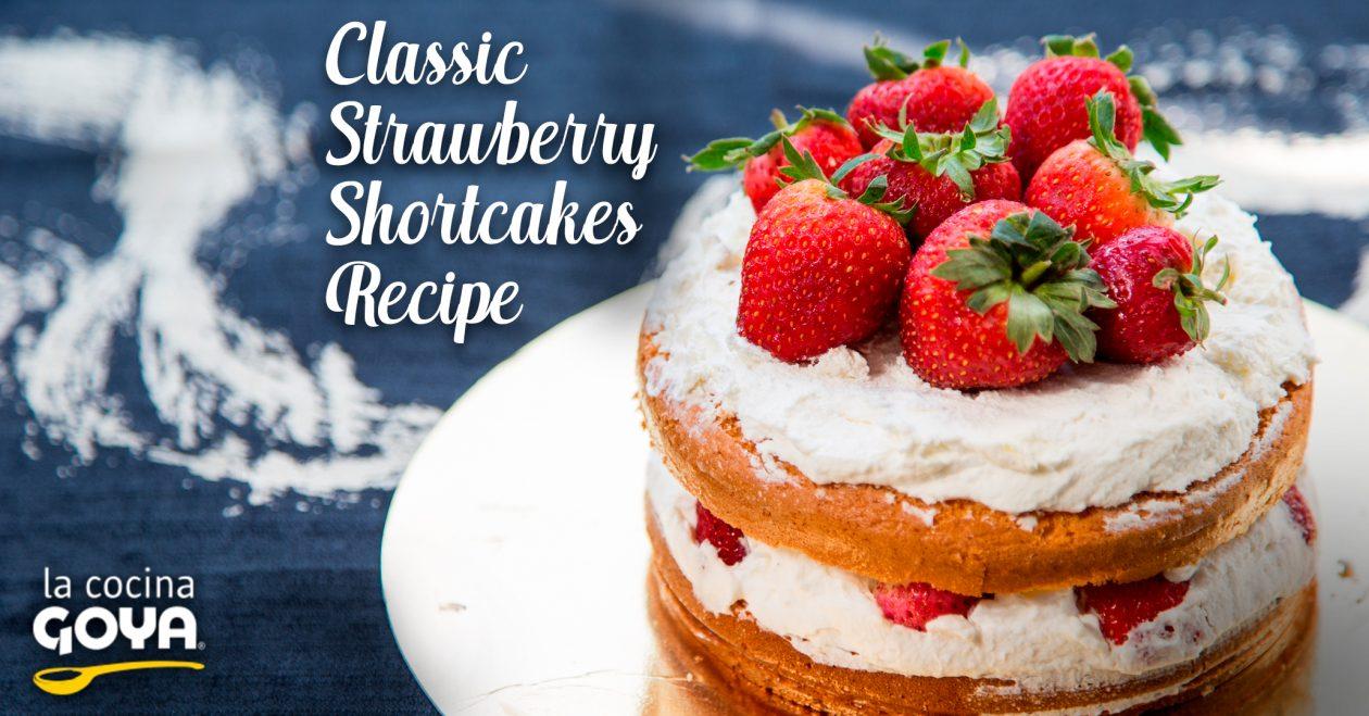 Strawberry shortcakes -tartaletas de fresas