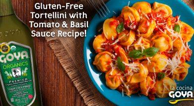 Gluten free tortellini | Tortelinnis sin gluten
