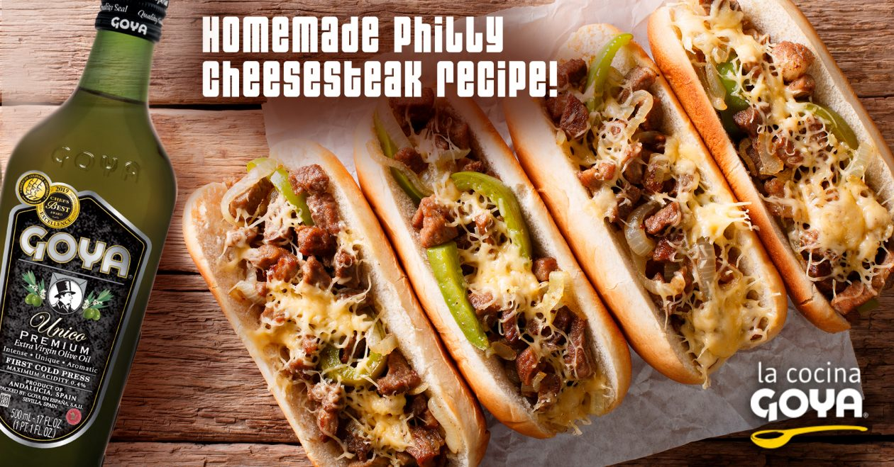 bocadillo de ternera con queso - sandwich with beef philly cheesesteak recipe