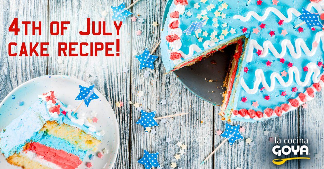 Tarta del 4 de julio | cake 4th july