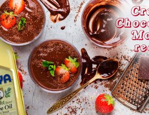 Mousse de chocolate cremosa