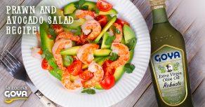prawn-and-avocado-fresh-salad | ensalada de gambas y aguacates