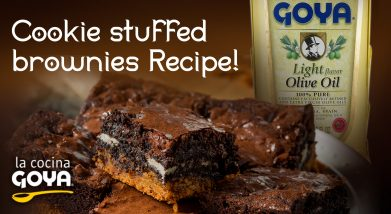 Cookie stuffed brownies Recipe!