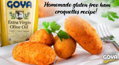 homemade gluten free ham croquettes recipe