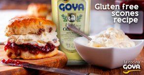 Gluten free scones- Bollos rellenos sin gluten