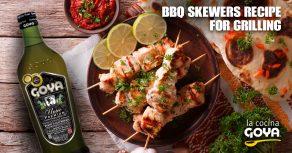 bbq skewers for grilling recipes | recetas de brochetas para barbacoa