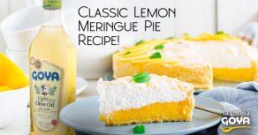 Tarta de merengue de limon | classic lemon meringue pie