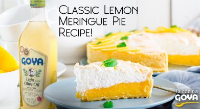 Tarta de merengue de limon | classic lemon meringue pie