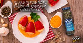Pimientos del piquillo con salsa de tomate